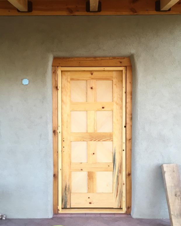 Custom Entry Door with Multipoint Lock