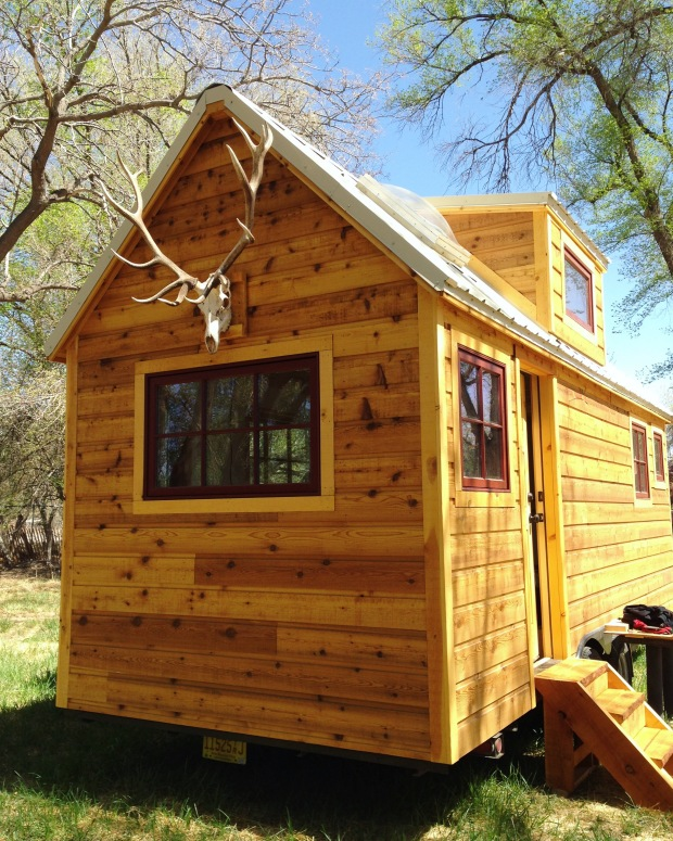 Custom tiny house on wheels